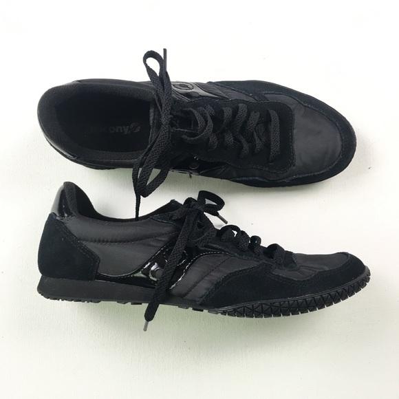 ee2cdda36b8f Saucony Mens All-Black Sneaker 8.5 A81